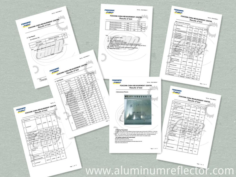 aluminum coil test report